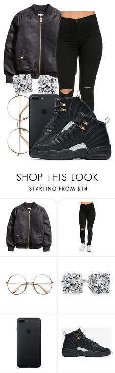"""""""😶😶😶😶"""" by honey-cocaine1972 ❤ liked on Polyvore featuring Blue Nile and NIKE"""