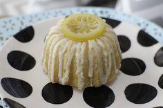 Lemon Mini Bundt Cake