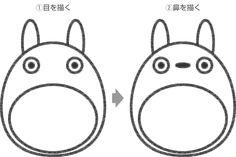 トトロのイラストの簡単な書き方 Totoro, Origami, Fictional Characters, Bags, Origami Paper, Fantasy Characters, Origami Art