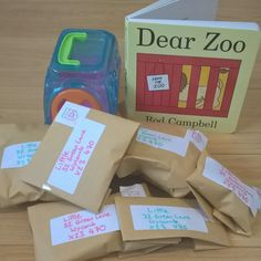 Dear Zoo toddler activity- three ideas to to try out with young children with the book Dear Zoo by Rod Campbell- to help speaking and listening, storytelling and learning the alphabet World Book Day Activities, Dear Zoo Activities, World Book Day Ideas, Eyfs Activities, Animal Activities, Language Activities, Infant Activities, Preschool Activities, Young Toddler Activities