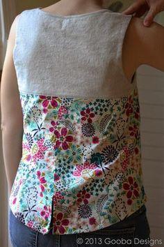 Friday Spotlight: Kristen's Lovely Datura Blouse — SewCanShe Tunic Sewing Patterns, Sewing Blouses, Dress Patterns, Embroidery Patterns, Hand Embroidery, Kurta Designs Women, Blouse Designs, Creation Couture, Shirt Refashion