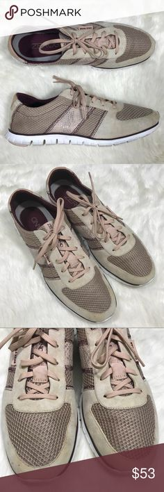 Cole Haan Women's ZeroGrand Sneaker Size 11 B Style #D44019 Color - Maple Sugar-Canyon Rose Condition - good. Shows moderate soil around the uppers. Please see all photos to examine flaws. Fair offers welcomed! Cole Haan Shoes Sneakers