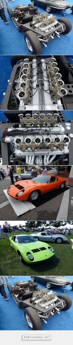 A Lamborghini Miura P400 Chassis But No Body In 1965 Lamborghini engineers Gian Paolo Dallara, Paolo Stanzani, and Bob Wallace (who recently passed away) worked overtime on their own to develop the first version of the P400, which later was named the Miura. The Miura P400 was introduced at the 1966 Geneva motor show and was received extremely well even though it was not a running car at the time of the show. This Lamborghini Miura prototype chassis was auctioned at the Gooding auction in…
