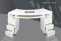 SNC KT-03-5 - Mesa para manicura (con aspirador de polvo): Amazon.es: Oficina y papelería