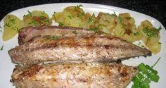 Filetitos de caballa al horno con Pimienta Blanca Grano