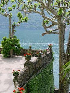 """audreylovesparis: """" Villa Balbianello in Lake Como, Italy """""""