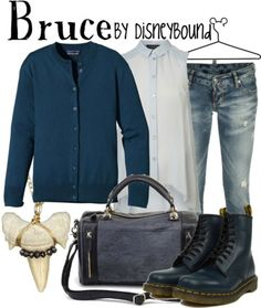 I like anything with distressed jeans and combat boots.