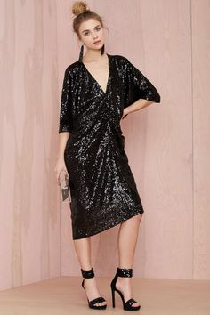 Night Moves Sequin Dress