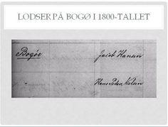 Jacob Hansen, f. 1813, og Hans Peder Nielsen, f. 1816, er opført som faste lodser, bosiddende på Bogø, i Rigsarkivet. Lolland-Falster og Møns Overlodsdistrikt. Lodsrulle 1852-1864, side 7 og 11. Scannet udgave på Arkivalier Online, https://www.sa.dk/ao-soegesider/billedviser?epid=17056339#137790,34288184: