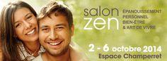 Rendez-vous à la 27e édition du salon Zen à Paris, Porte de Champerret, du 2 au 6 octobre. Demandez-nous une invitation gratuite pour deux personnes.
