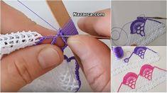 KENAR DANTEL ÖRNEĞİ SADE VE ŞIK ÖMÜR TÜKETEN MODELİ   Nazarca.com Bargello, Friendship Bracelets, Crochet Necklace, Silver, Jewelry, Easy Christmas Ornaments, Crochet Squares, Tejidos, Bangs