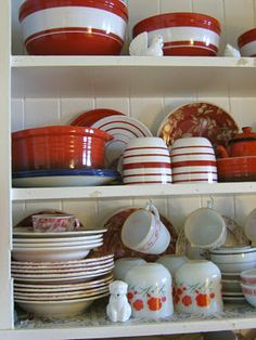 Cottage reds and whites