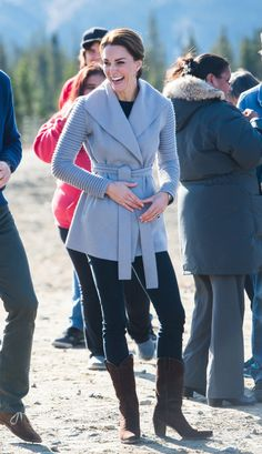 Wills and Kate Visit Whitehorse and Carcross