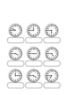 Telling Time with Melissa Mouse 2 | teaching math | Pinterest ...