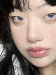 Cute Makeup Looks, Pretty Makeup, Hair Color Asian, Uzzlang Girl, Face Reference, Photo Dump, Beauty Makeup, Makeup Monolid, Face Claims