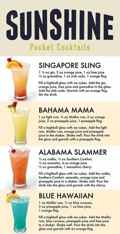 Mixed Drinks Alcohol, Alcohol Drink Recipes, Slushy Alcohol Drinks, Mixed Drink Recipes, Fruity Mixed Drinks, Frozen Drink Recipes, Mixed Alcoholic Drinks, Best Alcoholic Drinks Recipes, Liquor Drinks