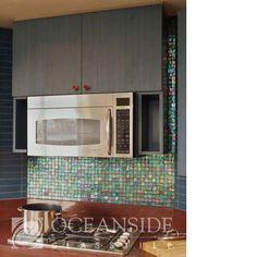 "Kitchen backsplash???  , tessera 1""x1"" mosaics, field, stove"