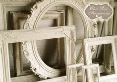 Always a wide selection of refashioned vintage frames available - Contact now - elsie.rose32@gmail.com
