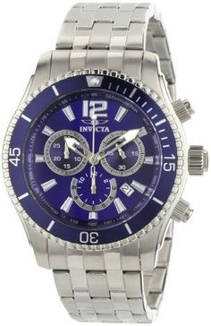 More blue...Invicta Men's 0620 II Collection Chronograph Stainless Steel Watch - $83.93  http://www.amazon.com/dp/B004QJZ4JI/ref=cm_sw_r_pi_dp_CppWqb13W79RY