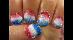 Más de 50 Uñas decoradas del 4 de Julio, día de la independencia de EEUU – 4th of july nail art | Decoración de Uñas - Manicura y Nail Art