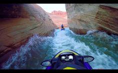Jet Ski Water Fight Lake Powell Arizona / Utah Sea-Doo and GoPro Slot Canyons 4K