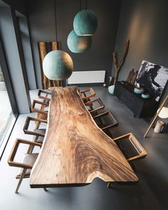 Formel Wood table done in exotic wood called either suar#trembesi#monkeypod#parota and our oxidized copper lamp.