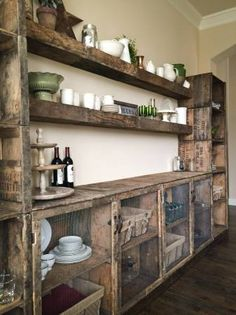 Cool Crate Shelving!