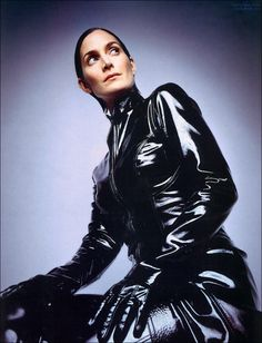 Actress Carrie Ann Moss from the Matrix Trilogy