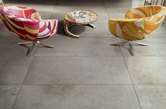 Large Format Floor Tiles @MaterialPlans Industrial Floor Tiles - Interior Design