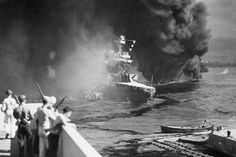 Pearl Harbor: Photos and Facts from the Infamous WWII Attack Nagasaki, Hiroshima, Pearl Harbor Facts, Uss Oklahoma, Abandoned Ships, Pearl Harbor Attack, Germany And Italy, Space Museum, Flying Boat