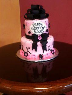 Eva's - Sweet 16 Cake