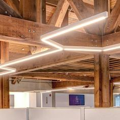 Unleash your creativity by creating unique patterns and designs with Axis Lighting's collection of creative, high-performance, modular luminaires. Linear Lighting, Lighting System, Lighting Design, Bauhaus Interior, Interior Lighting, Creative, Inspiration, Furniture, Home Decor