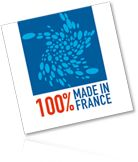 100% Made in France met en exergue des produits fabriqués en France, en valorisant le savoir-faire des entreprises tricolores et la qualité de leur production !