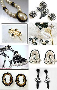 Ebony and Ivory. . . by Debra on Etsy--Pinned with TreasuryPin.com