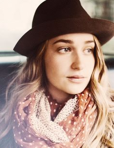 Jessa from Girls. She exudes so much confidence that it spills out of the tv onto me.