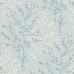 Arthouse Fern Motif Wallpaper - Teal, White and Grey - http://godecorating.co.uk/arthouse-fern-motif-wallpaper-teal-white-grey/