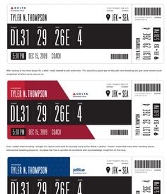 Air Canada boarding pass. Just Landed Inspiration