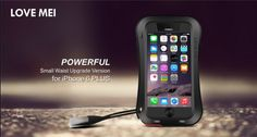 LOVE MEI® POWERFUL Small Waist Upgrade Version for iPhone 6 Plus