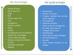 Energizate! #CuestionDeHabitos