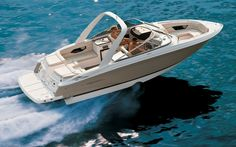 Would love to have a boat like this!!Sunesta Chapparal Dream Boat.