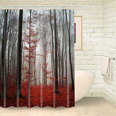 Foog Fog Forest Shower Curtains Red Lacdscape Tree Shower... https://www.amazon.com/dp/B01NBMK3OQ/ref=cm_sw_r_pi_dp_x_Jcswyb84QEFDY