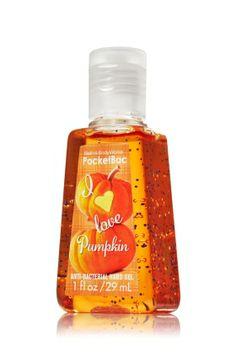 Pumpkin PocketBac Sanitizing Hand Gel - Anti-Bacterial - Bath & Body Works...LOL... @Jenna Nelson Driscoll
