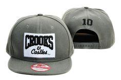 New Era Crooks And Castles Snapbacks Hats Caps