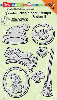 New Stampendous stamp and die sets now available at Crafts U Love http://www.craftsulove.co.uk/stampendous.htm