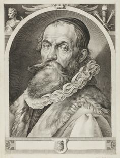January Harmensz. Muller (zugeschr.), Portrait of Hendrick Goltzius, about 1617 to 1620, copper engraving old holdings, acquired before 1861 © 2014 Städel Museum.