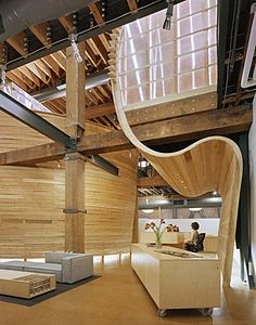 TBWA/Chait/Day offices, San Francisco designed by Marmol Radziner....
