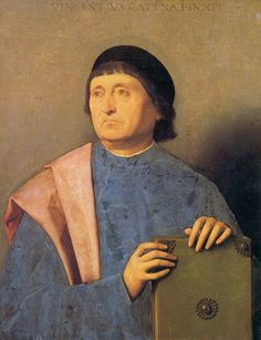 Vincenzo Catena, Portrait of a man with a book (ca. 1520, Kunsthistorisches Museum, Wien)