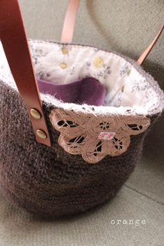 crochet marchebag