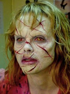 Special FX Makeup created by Gary JTunnicliffe for Exorcist                                                                                                                                                                                 Más