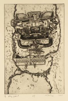Sir Eduardo Paolozzi, 'Head' 1979